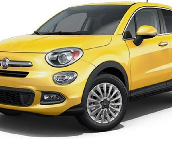 Take the high road with your new Fiat 500x lounge